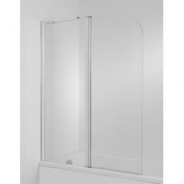 Vaňová zástena Jika Cubito 115x140 cm ľavá, sklo číre 5642.6.002.668.1