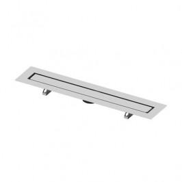 Sprchový žľab pre vloženie dlažby 120 cm Tece Drainline nerez 651200