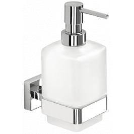 Inda Dávkovač mydla Cubo hranatý nástenný A29120CR21