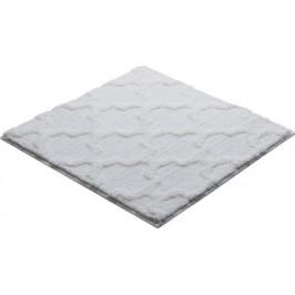 Kúpeľňová predložka polyester Grund 55x55 cm, biela SIKODGNAN550