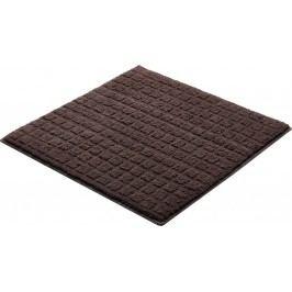 Kúpeľňová predložka polyester Grund 55x55 cm, hnedá SIKODGEMI554