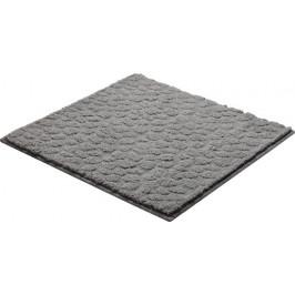 Kúpeľňová predložka polyester Grund 55x55 cm, šedá SIKODGSTE553