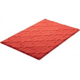 Kúpeľňová predložka polyester Grund 90x60 cm, červená SIKODGNAN607