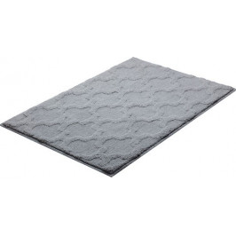 Kúpeľňová predložka polyester Grund 90x60 cm, šedá SIKODGNAN603