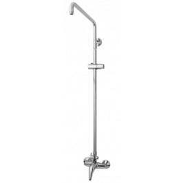 Sprchový systém Jika Lyra plus s pákovou batériou, oblý dizajn 3527.7.004.000.1