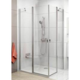 Sprchové dvere Ravak Chrome jednokrídlové 90 cm, sklo číre, chróm profil CRV290TCR