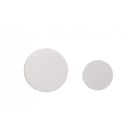 Ovládacie tlačidlo Tece Loop plast, biela 9.240.663