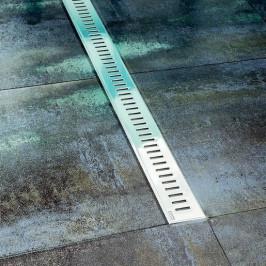 Sprchový žľab lines 75 cm Ravak Zebra plast OZZEBRA750PL
