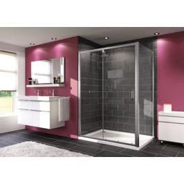 Sprchové dvere Huppe Next posuvné 140 cm, sklo číre, chróm profil 140404.069.322