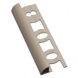 Lišta ukončovacia oblá PVC bahama, dĺžka 250 cm, výška 6 mm, L62501