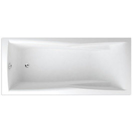 Obdĺžniková vaňa Teiko Columba 160x75 cm akrylát V112160N04T04001