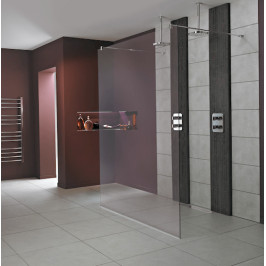 Pevná stena Ideal Standard Wetroom Walk-in 80 cm, sklo číre L6222EO