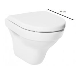Závesné WC Jika Tigo, zadný odpad, 49cm 2021.3.000.000.1