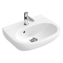 Umývadlo Villeroy & Boch O.Novo 50x40 cm, otvor pre batériu uprostred 53605001
