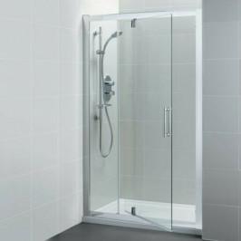 Sprchové dvere Ideal Standard Synergy jednokrídlové 120 cm, sklo číre, chróm profil L6364EO