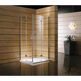 Sprchový kút Anima T-Comfort štvorec 90 cm, sklo číre, chróm profil TCL490T