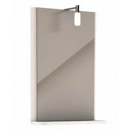 Zrkadlo s osvetlením Kolo Rekord, biela 88418000