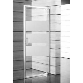 Sprchové dvere 80x190 cm Jika Lyra plus biela H2543810006651