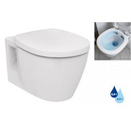 Závesné WC Ideal Standard Connect, zadný odpad, 54cm E817401