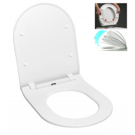 WC sedadlo softclose Glacera Duroplast EASYSLIM44