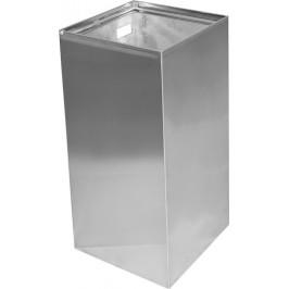 Odpadkový kôš závesný Bemeta 25 l nerez mat 101915115