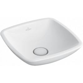 Umývadlo na dosku Villeroy & Boch Loop&Friends 43x43 cm, bez otvoru pre batériu 51491101