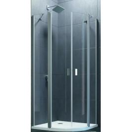 Sprchové dvere Huppe Design Pure jednokrídlové 80 cm, R 550, sklo číre, chróm profil DPU280190CRT