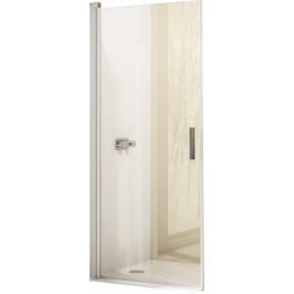 Sprchové dvere Huppe Design Elegance jednokrídlové 80 cm, sklo číre, chróm profil DEL180190CRT