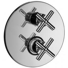 Sprchová batéria Paffoni Cruz vrátane podomietkového telesa chróm QTV013