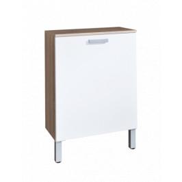 Kúpeľňová skrinka nízka Naturel Vario 60x30 cm biela VARIOK60DBBL