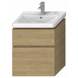 Kúpeľňová skrinka pod umývadlo Jika Cubito 59x42,7x68,3 cm dub H40J4234025191