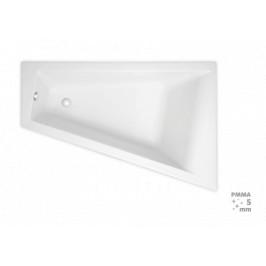 Rohová vaňa Laguna Idea Plus 160x100 cm, pravá, 100% akrylát, 200 l ID1600PPLUS