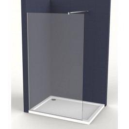 Pevná stena Anima Walk-in 80 cm, sklo číre, chróm profil WI80
