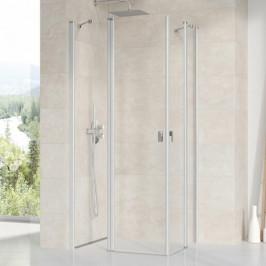 Sprchové dvere Ravak Chrome jednokrídlové 100 cm, sklo číre, satin profil CRV2100TS