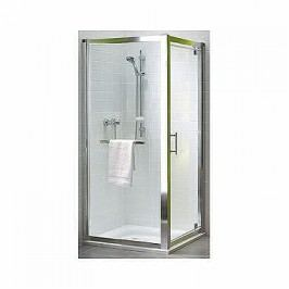 Sprchové dvere Kolo GEO 6 jednokrídlová 90 cm, chróm profil GDRP90205003