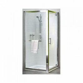 Sprchové dvere Kolo GEO 6 jednokrídlová 80 cm, sklo číre, chróm profil GDRP80R22003
