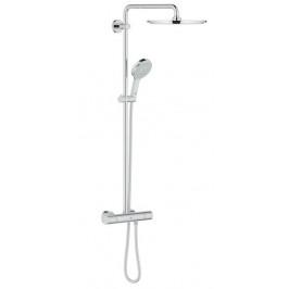 Sprchový systém Grohe Rainshower s termostatickou batériou, 4 funkcie, oblý G27968000