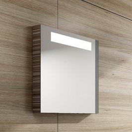 Zrkadlo s osvetlením Ravak Classic 80x55 cm espresso X000000432
