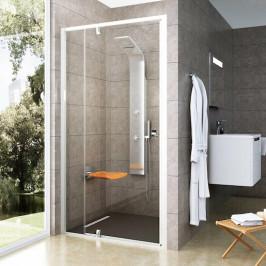 Sprchové dvere Ravak Pivot jednokrídlové 100 cm, sklo číre, chróm profil PDOP2100T0