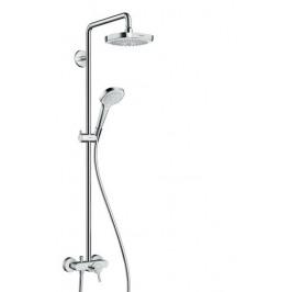 Sprchový systém Hansgrohe s pákovou batériou 27258400