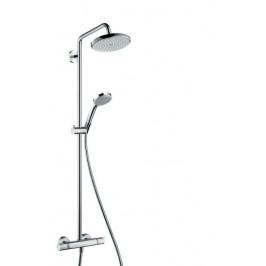 Sprchový systém Hansgrohe Croma s termostatickou batériou, 1 funkcia 27185000