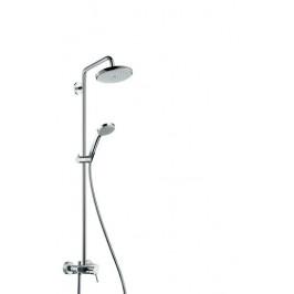 Sprchový systém Hansgrohe Croma s pákovou batériou 27222000