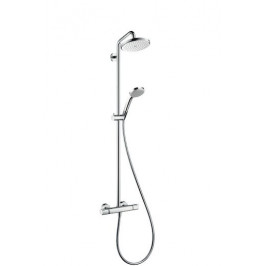 Sprchový systém Hansgrohe Croma s termostatickou batériou 27188000