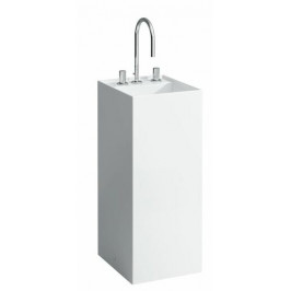 Umývadlo Laufen KARTELL BY LAUFEN 37,5x43,5 cm, tri otvory pre batériu 1133.1.000.158.1