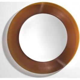 Zrkadlo s LED osvetlením Laufen Kartell By Laufen 78x78 cm oranžová H3863310820001
