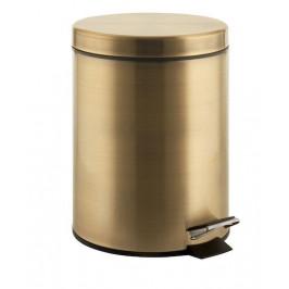 Odpadkový kôš voľne stojaci Sapho 3 l bronz 2609