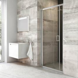 Sprchové dvere Ravak Serie 200 zalamovacia 70 cm, sklo číre, chróm profil BLDZ270TBR