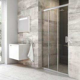 Sprchové dvere Ravak Serie 200 posuvné 90 cm, sklo číre, chróm profil BLDP390TBR