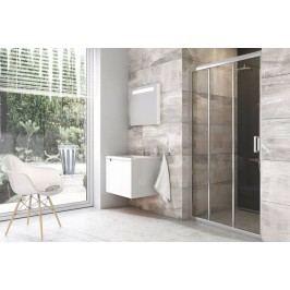 Sprchové dvere Ravak Serie 200 posuvné 100 cm, sklo číre, chróm profil BLDP3100TBR