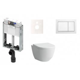 Závesný komplet WC Laufen Pro, zadný odpad KMPLPROAT